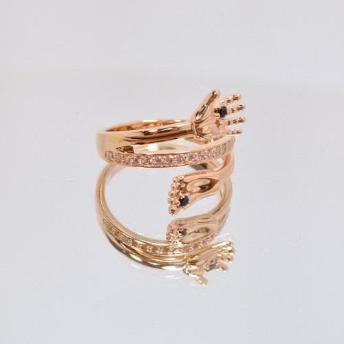 Золотое кольцо ручка и ножка 210405