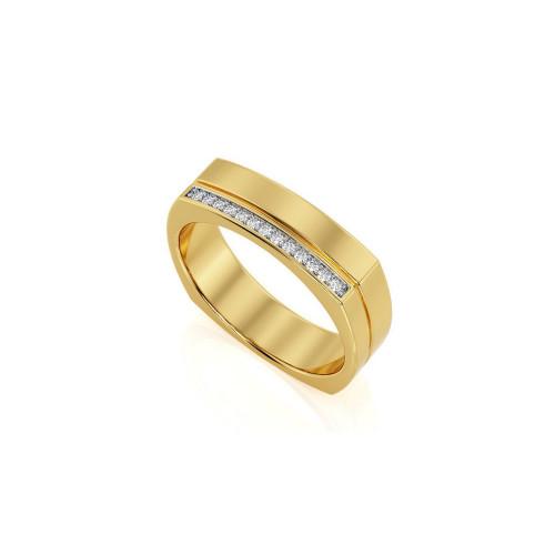 Обручальные кольца необычной формы с бриллиантами 1895783
