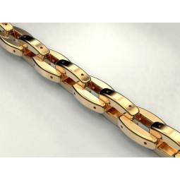 Мужская золотая массивная цепь 805000