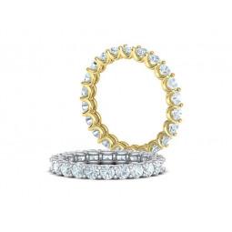 Золотое женское кольцо с бриллиантами 2486418