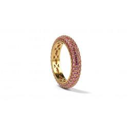 Авторское золотое кольцо с рубинами 706070