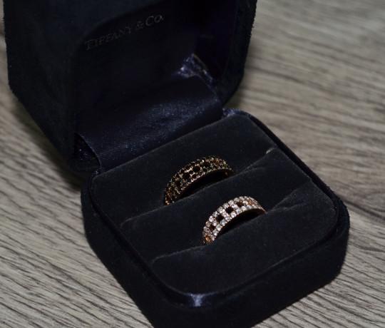 Обручальные кольца с бриллиантами реплика Tiffany & Co