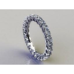 Золотое кольцо с бриллиантами 94350