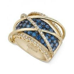 Эксклюзивное женское кольцо реплика Le Vian