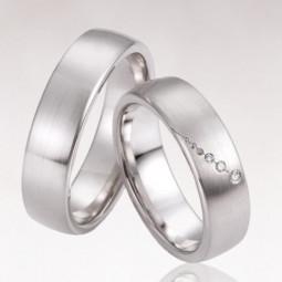 Обручальные кольца с маленькими бриллиантами 2463816