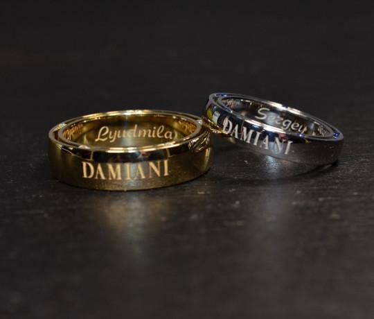 Обручальные кольца реплика Damiani