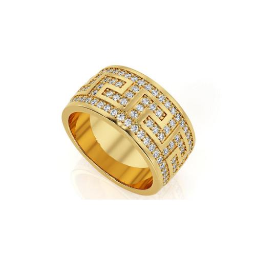 Многокаменные свадебные кольца с бриллиантами 1940878