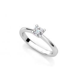Золотое помолвочное кольцо с бриллиантом 2032724