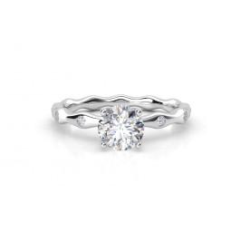 Авторское золотое кольцо с бриллиантами 2170292