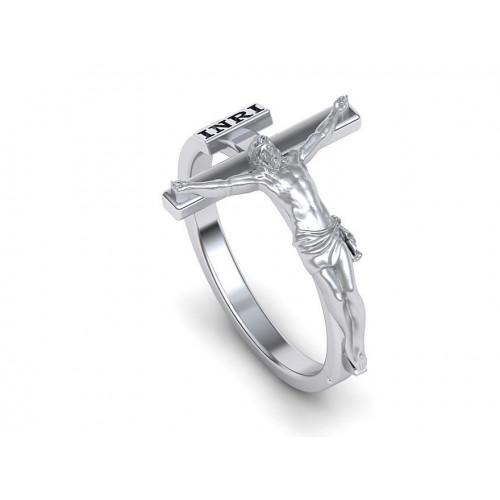 Двухцветное золотое охранное кольцо 2262199