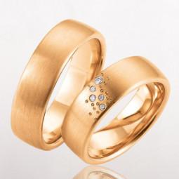 Свадебные кольца с мелкими бриллиантами 2465252