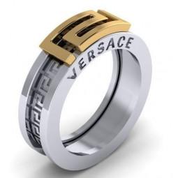 Золотое кольцо в стиле Versace 2296664