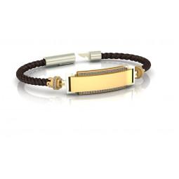 Мужской авторский браслет с бриллиантами 2553382