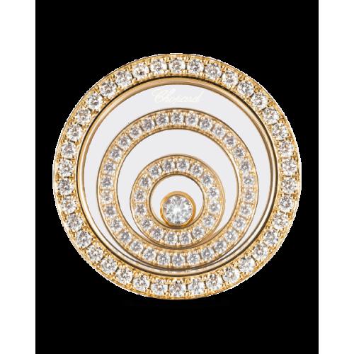 Женские серьги в стиле Chopard Happy Spirit Diamond