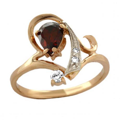 Женское золотое кольцо 100800