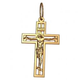 Прямоугольный крест с распятием 5049