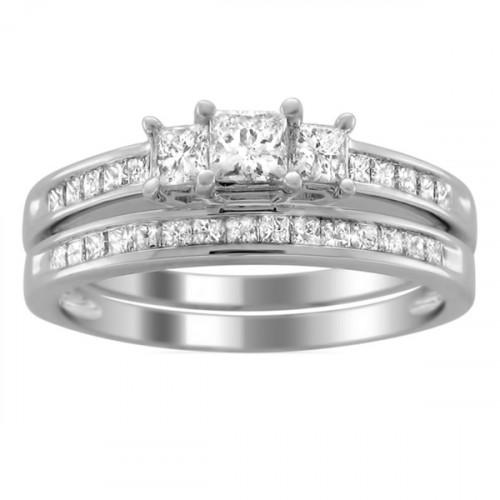 Авторское золотое двойное женское кольцо с камнями AU 4437040