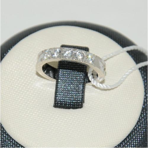 Золотые обручальные кольца с камнями 4221152