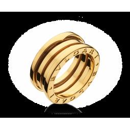 Золотое кольцо копия BVLGARI B-ZERO Ring