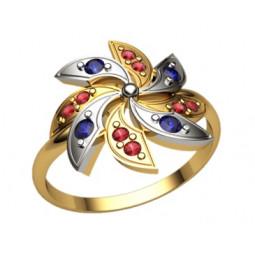 Женское золотое кольцо 1205